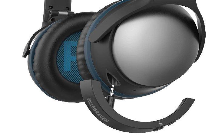 Bolle&Raven Wireless Bluetooth Headphone Adapter for Bose QuietComfort 25 Headphones (QC25)
