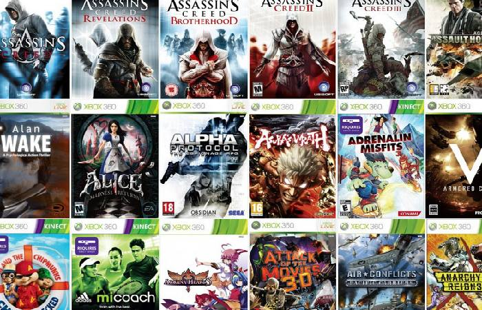 XBOX 360 games on Microsoft Store