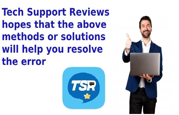 Tech Support Reviews